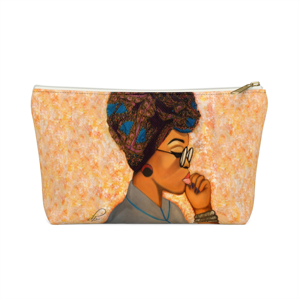 Deep In Thought Accessory Pouches
