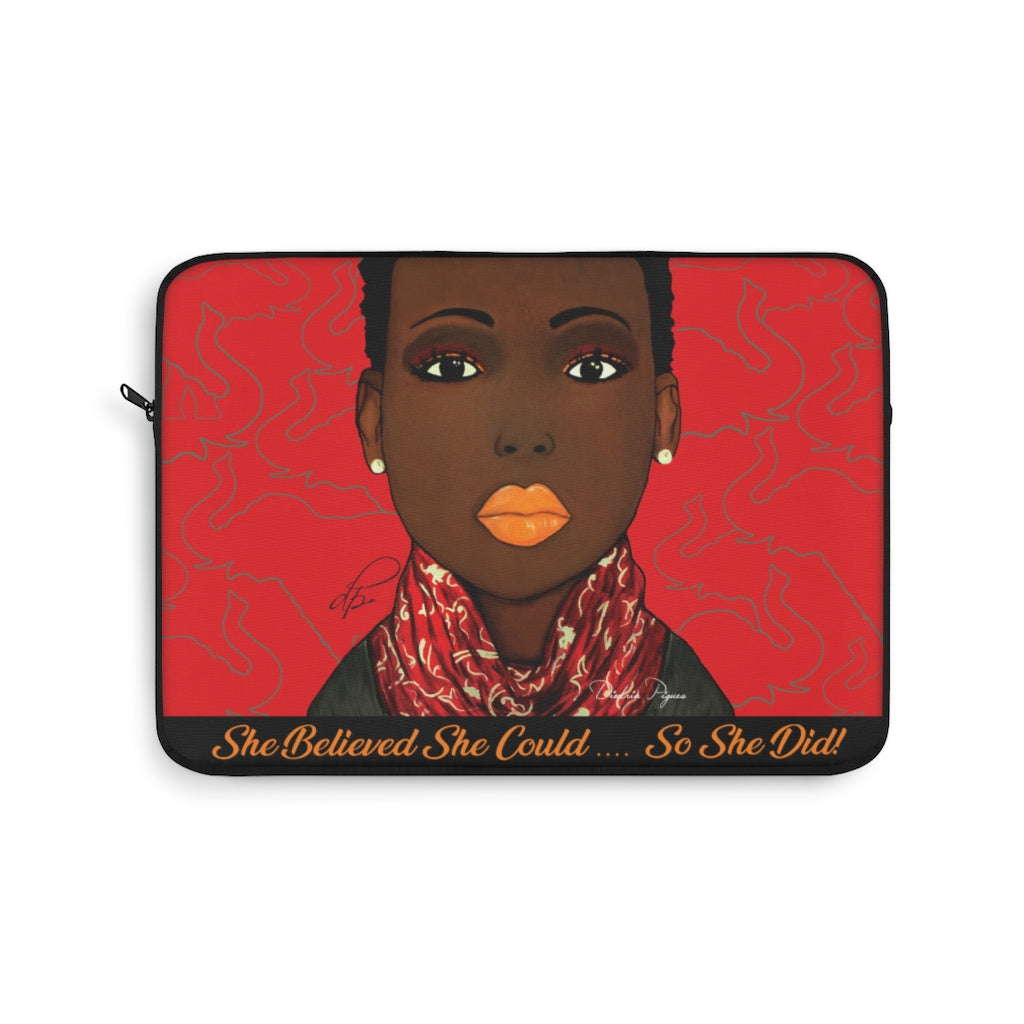 Crimson Beauty Laptop Sleeve
