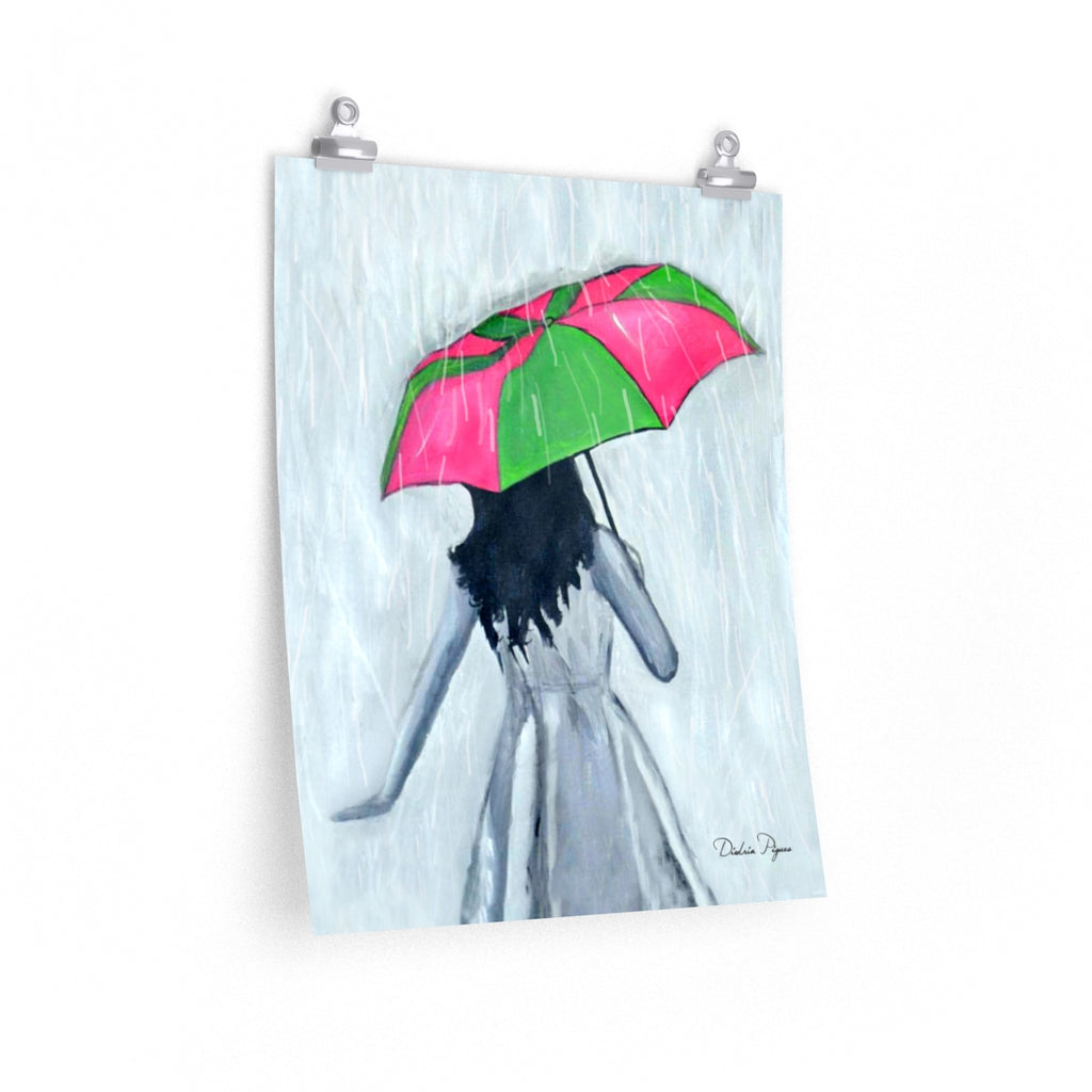 Elegant Showers Art Print