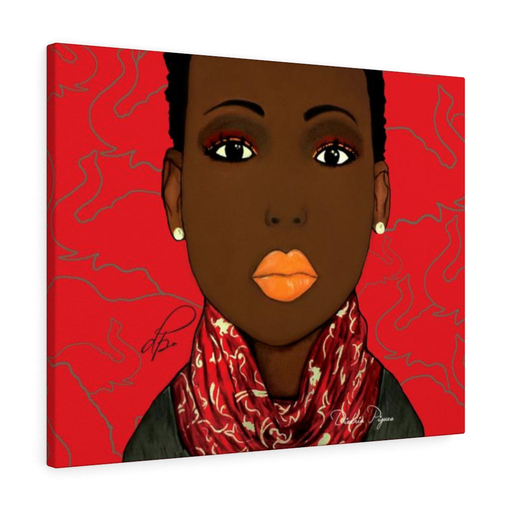 Crimson Beauty Canvas Gallery Wraps