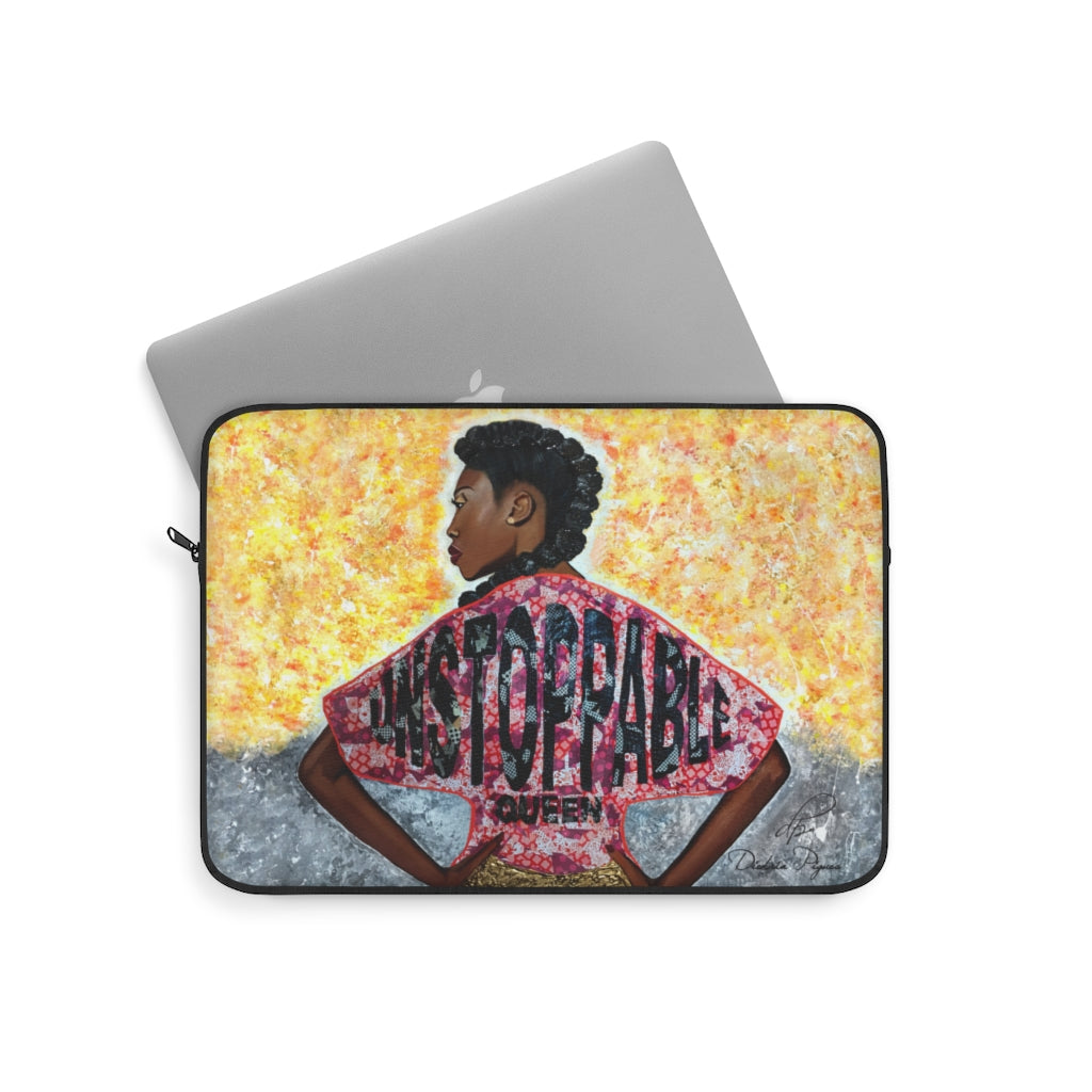 Unstoppable Queen Laptop Sleeve
