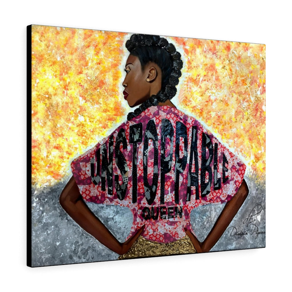 Unstoppable Queen Canvas Gallery Wraps