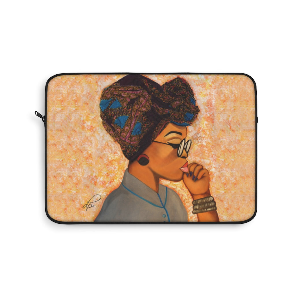 Deep In Thought Laptop Sleeve