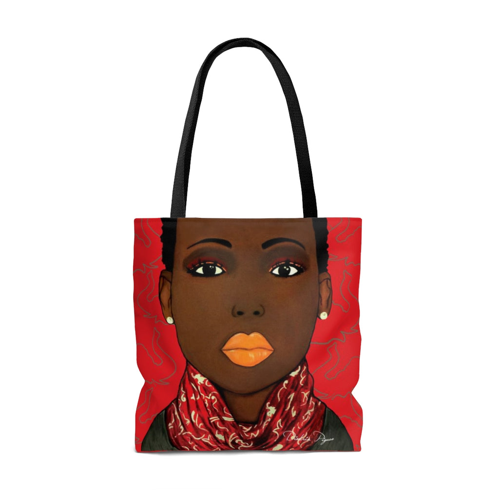 Crimson Beauty Tote Bag