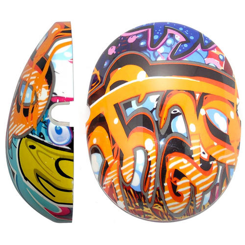 Edz Kidz Caps for Children Ear Defenders - Graffiti, care & safety, for disabled children.