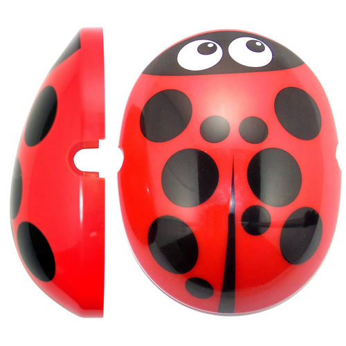 Edz Kidz Caps for Children Ear Defenders - Ladybird, care & safety, for disabled children.