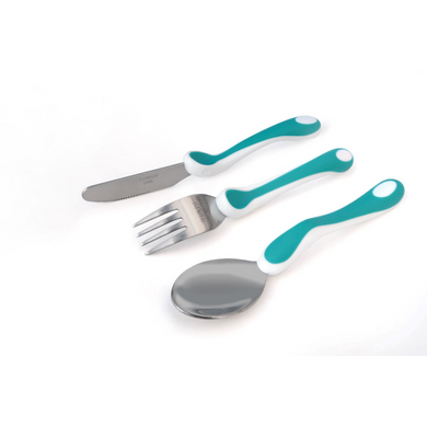 Clever Grip Training Cutlery Set, eating, for disabled children.
