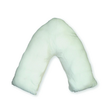 Load image into Gallery viewer, Duette Wipe Clean V Shaped Pillow, continence, for disabled children.