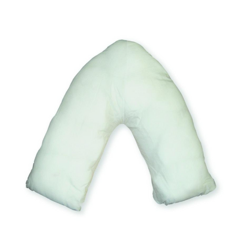 Duette Wipe Clean V Shaped Pillow, continence, for disabled children.