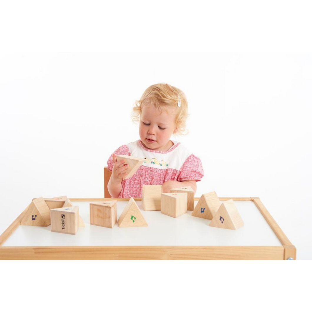 Sound Prism Set, motor and cognitive skills, for disabled children.