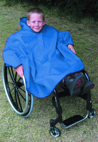 Kittiwake Cape, wheelchair clothing, for disabled children.