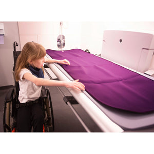 Care Designs Adult Padded Changing Mat, out and about, for disabled children and adults.