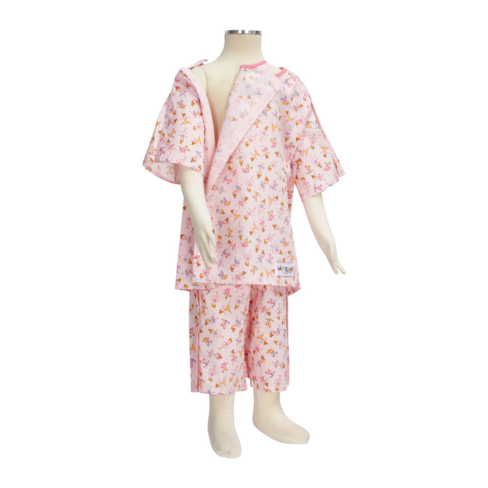 Ballerina Hospital Pyjamas, Protective Clothing, for Disabled Children.