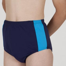 Load image into Gallery viewer, HiLINE Mens Incontinence Trunks, Swimwear, for disabled children.