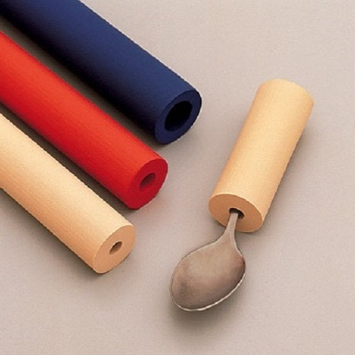 Foam Tubing, eating, for disabled children.
