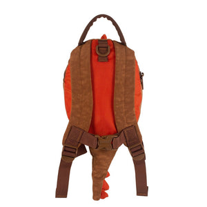 Dinosaur Toddler Backpack with Rein, out and about, for disabled children.