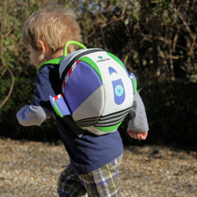 Disney Buzz Lightyear Children's Backpack, out and about, for disabled children.