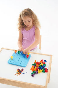 Geo Peg Board, early development, for disabled children.