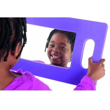 Load image into Gallery viewer, Hand-Held Foam Mirror, early development, for disabled children.