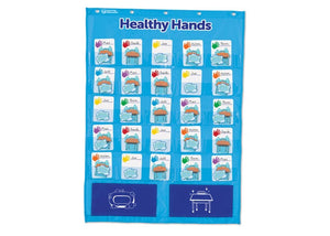 Healthy Hands Chart, Care and Safety, for Disabled Children.