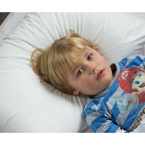 Duette Wipe Clean Pillow, continence, for disabled children.