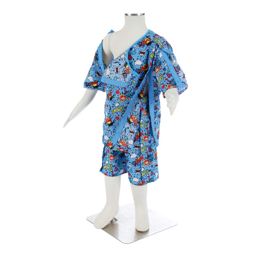 Kapow Hospital Pyjamas, Protective Clothing, for Disabled Children.