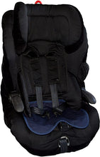 Load image into Gallery viewer, Kids Car Seat Protector Navy in a child car seat, Out & About, for disabled children.