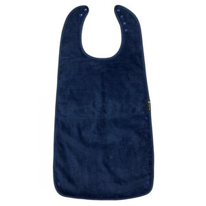 Navy Mum 2 Mum PLUS Clothing Protector Supersized, Protective Bib, for disabled Children