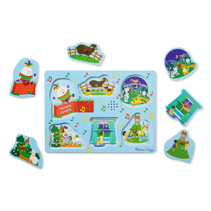 Nursery Rhymes Sound Puzzles, motor and cognitive skills, for disabled children.