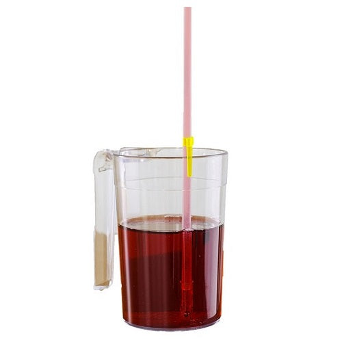 One-Way Straw, Drinking, for disabled children.