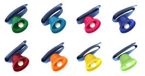 Rainbow Wrist Bells, motor and cognitive skills, for disabled children.