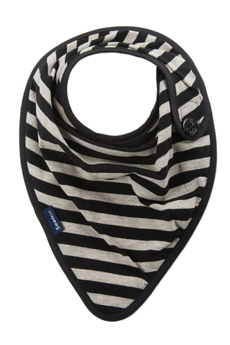 Side Fastening Striped Kerchief