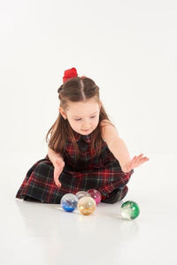 Sensory Rainbow Glitter Balls, Learning resources, for disabled children.