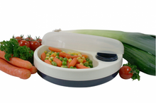Load image into Gallery viewer, Stay Warm Feeding Dish, eating, for disabled children.