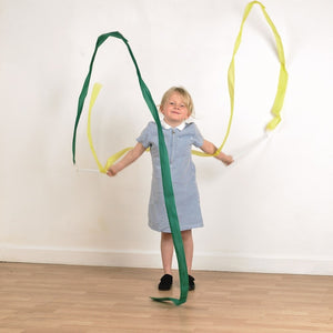 Streamers, toys and learning, for disabled Children