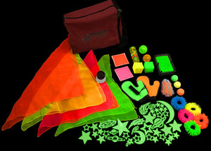 Medium UV Kit, sensory integration, for disabled children.