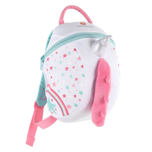 Unicorn Childrens Backpack, out and about, for disabled children.
