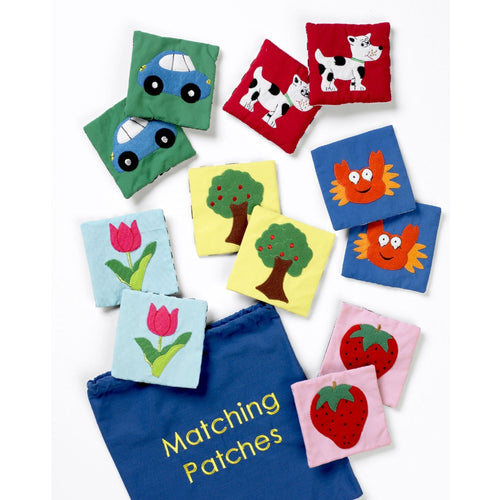 Matching Patches 12pk, motor and cognitive skills, for children with disabilities.