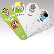 Load image into Gallery viewer, Toileting Fan, Sensory Integration, for disabled children.