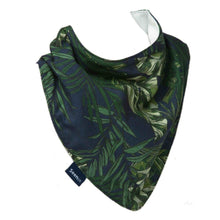 Load image into Gallery viewer, Draped Hessie Bandana - Palm Leaves, Protective Bibs, For Disabled Children.