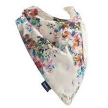 Load image into Gallery viewer, Splash Floral Draped Hessie Bandana, Protective Bib, For Disabled Children.