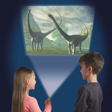 Load image into Gallery viewer, Natural History Dinosaur Torch and Projector, Learning resources, for disabled children.