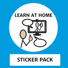 Load image into Gallery viewer, Learn at Home Stickers for Tomtag collection, Learning Resource, for disabled children.