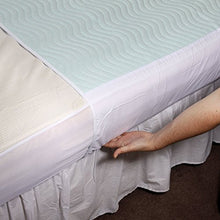 Load image into Gallery viewer, Vida Washable Bed Pad - Green, incontinence, for disabled children.