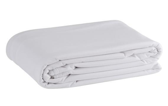 Waterproof Flat Sheet White, Bedtime, for disabled children.