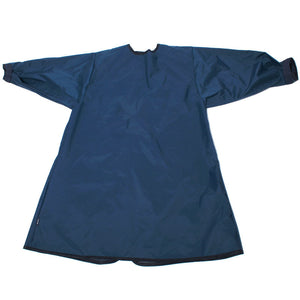 Waterproof PVC overall Navy, Protective Bib,, for disabled children.