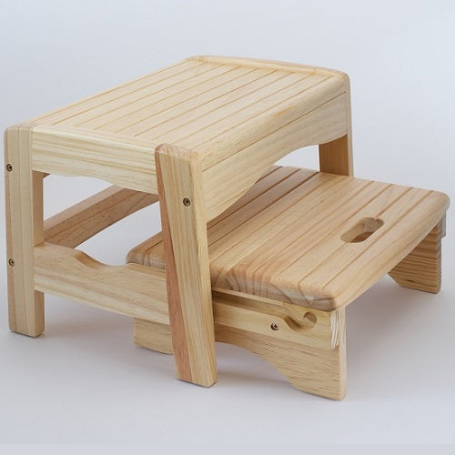 Wooden Step Stool, Care & safety, for disabled children.