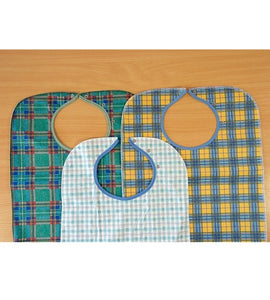 Absorbent Polyester Aprons, Protective bib, for disabled children.