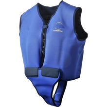 Load image into Gallery viewer, Konfidence Adult Swim Jacket Blue and Yellow, Swimwear, for disabled adults..