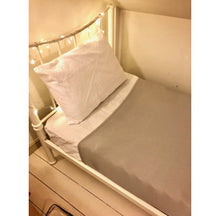 Load image into Gallery viewer, Bed with Compression Body Sock Grey,  Sensory Bedding for disabled children.